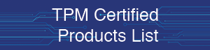 TPM Certified Products CTA