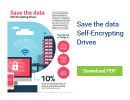 Save the Data: Self-Encrypting Drives Infographic